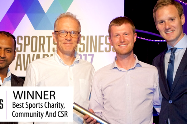 BEST SPORTS CHARITY, COMMUNITY AND CSR 2017