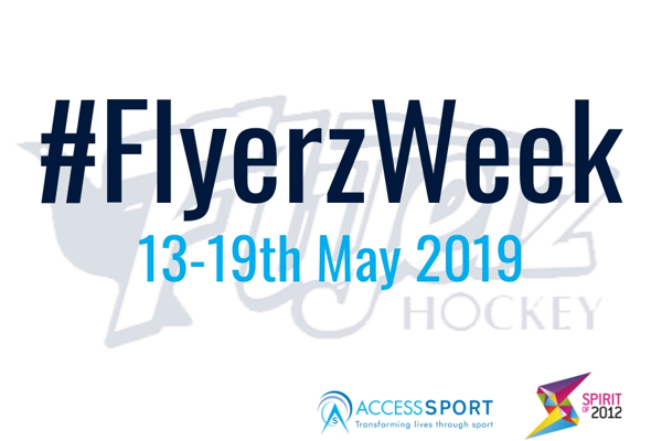 #FLYERZWEEK 2019: A CALL TO ACTION TO INSPIRE MORE HOCKEY CLUBS TO OPEN THEIR DOORS TO DISABLED PEOPLE