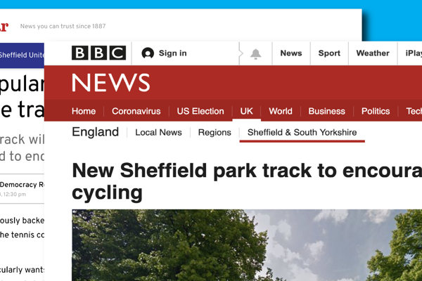SHEFFIELD COUNCIL BACK FIRST BMX TRACK