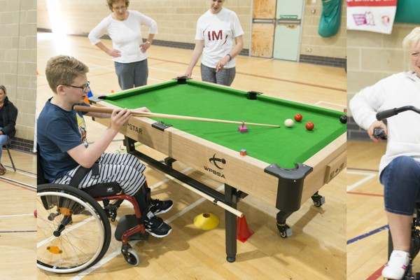 Cerebral Palsy Plus and Access Sport Health & Wellbeing Day!
