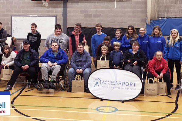 Access Sport in partnership with Irwin Mitchell host their first boccia social