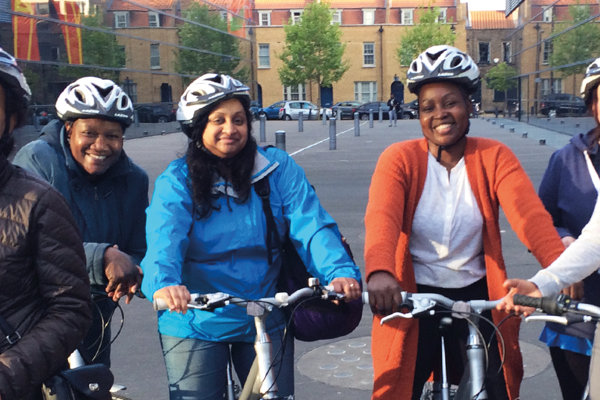 Access Sport lends bikes to Royal London Hospital female workers during Coronavirus crisis