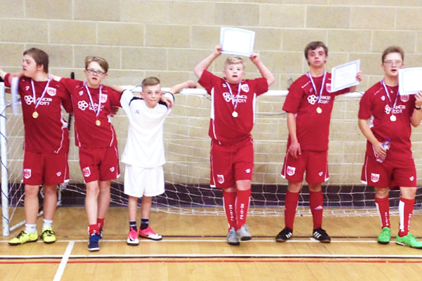 Bristol Down Syndrome FC End of Season Celebration