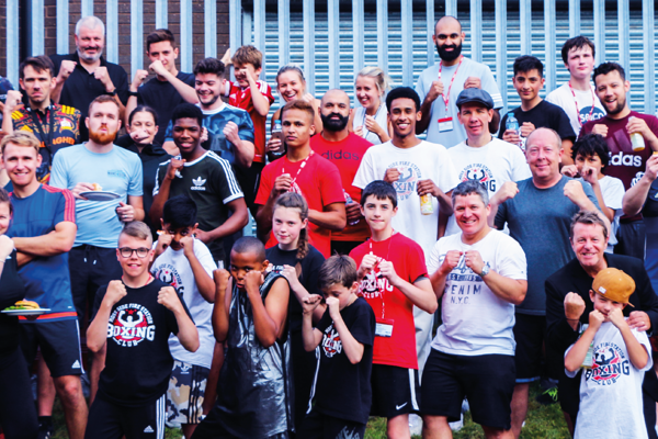 Moss Side Boxing Steps into the ring to help deliver meals to local children