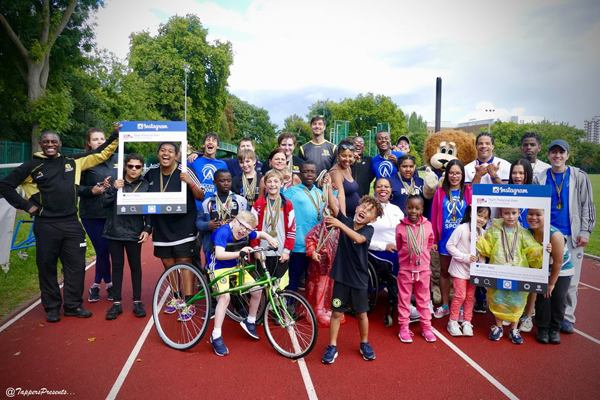 Paralympians join S-Factor Academy for Summer Camp Competition Day!
